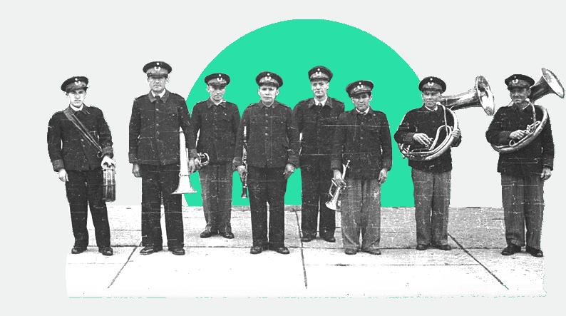 grupo musical de trompetas